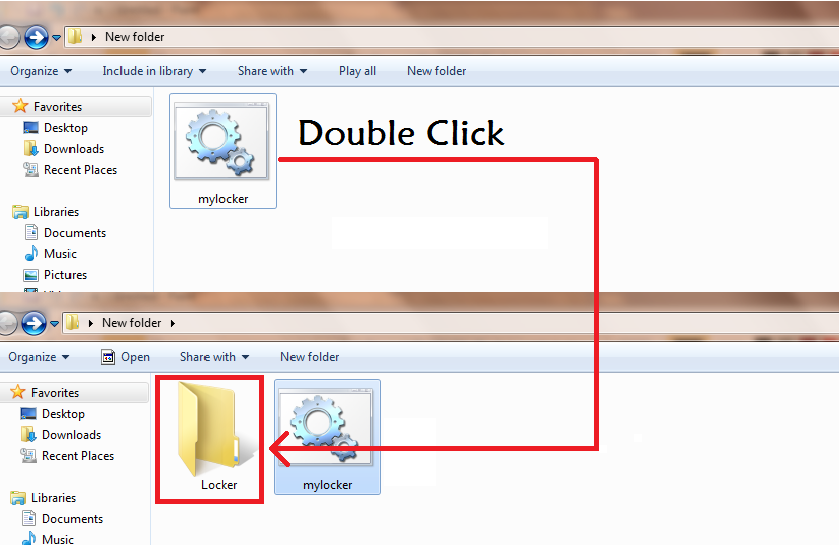 Create Own Folder Locker for Windows 3