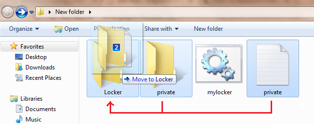 Create Own Folder Locker for Windows 4