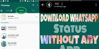 Save Anyone Whatsapp Status Without Any App 7