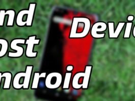 Find lost android device