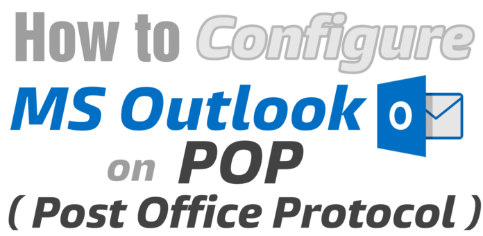 Configure MS Outlook on POP