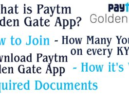 Paytm Golden gate