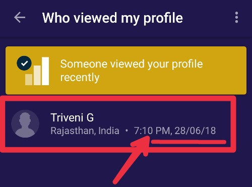 Who Viewed Your Truecaller Profile