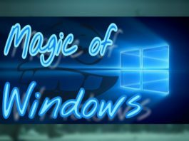 Magic of Windows