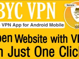 BYC VPN android app
