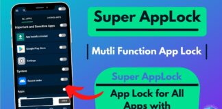 Super AppLock App Lock for All Apps