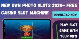 New Own Photo Slots Machine Game