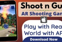 Shoot n gun AR shooting