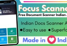 Focus Scanner Free Document Scanner Indian App