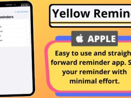Yellow Reminder App Review