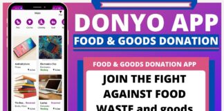 Donyo App - food & goods donation app