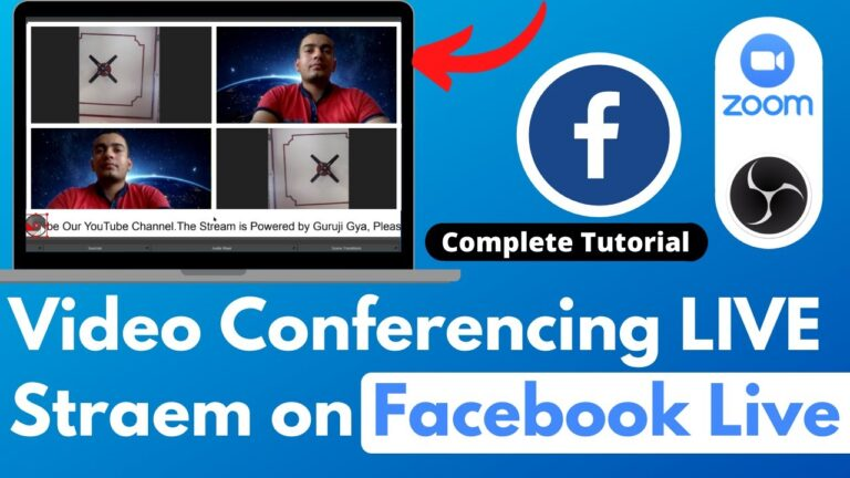 OBS Studio with Zoom Video Conferencing facebook