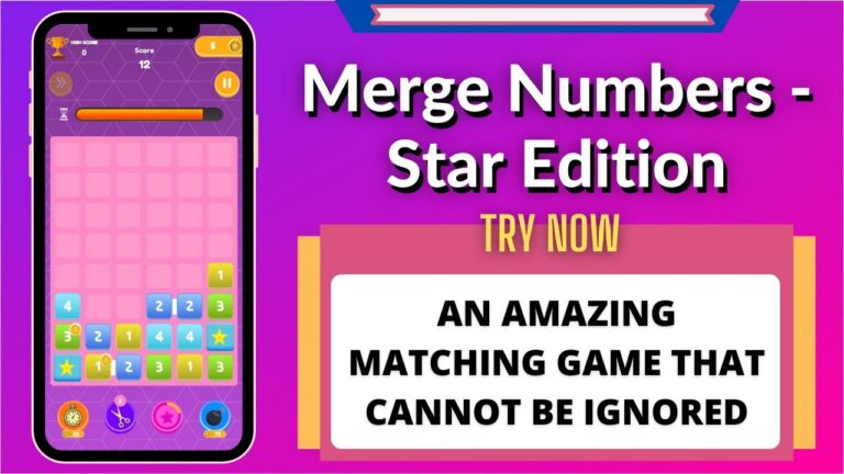 Merge Numbers – Star Edition | Game Review