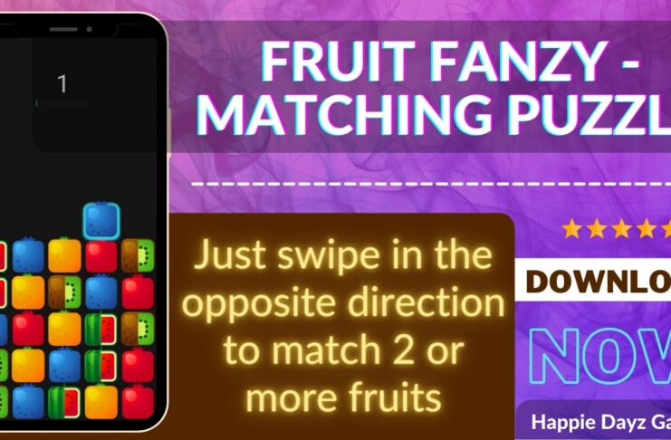 Fruit Fanzy Matching Puzzle Game Review